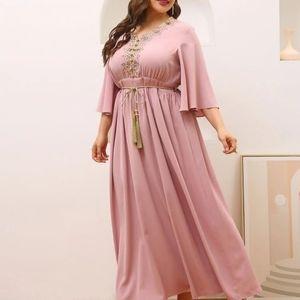 NWOT Shein a-line maxi dress